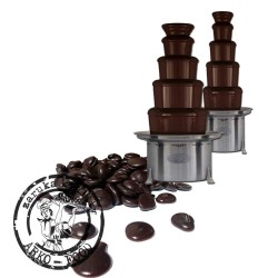 Čokoláda hořká extra do fontán 62/42% (pecky) 3 kg/sáček alu
