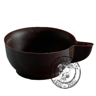 Čokoládové košíčky (hořké) Coffe cups prům.4,4, v.2cm  52 ks/bal (370g)