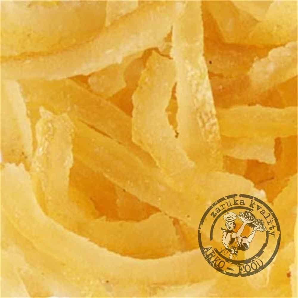 Kandovaná citrónová kůra (řezy) 500 g/vanička