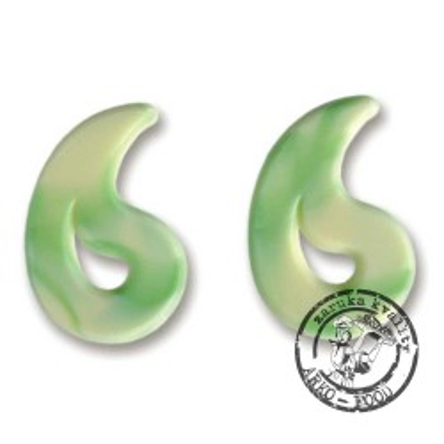 Puccini bílá/zelená 60 ks