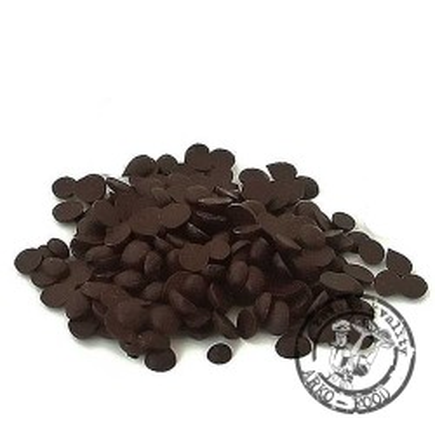Poleva tmavá máčecí s extra tmavým kakaovým práškem (čočky) 1 kg