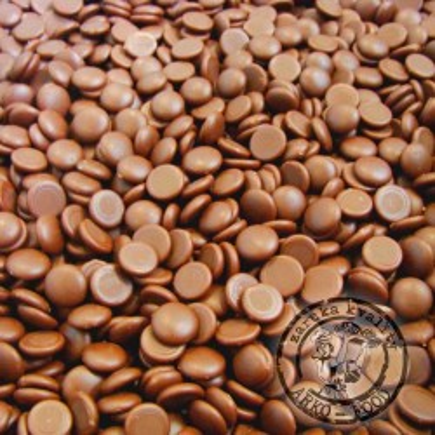 Belgická mléčná čokoláda 36% - pecky