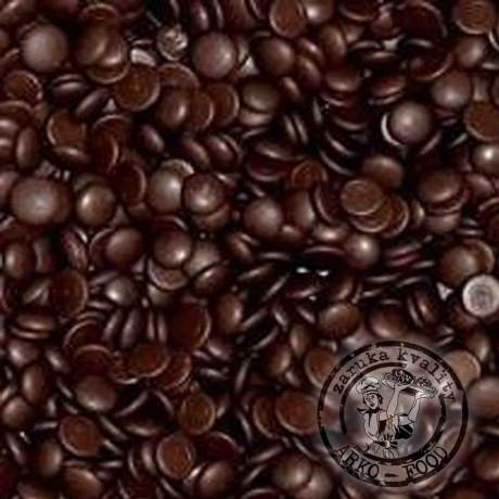 Belgická hořká čokoláda 50% (pecky) - 100g