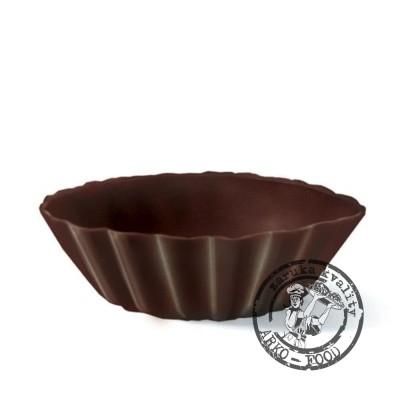 Košíček tmavý mini (43x 15mm) 42 ks