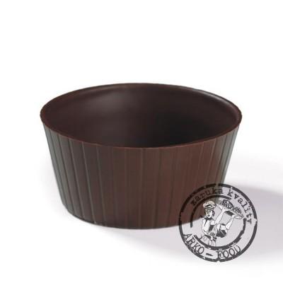 Souffle košíček tmavý