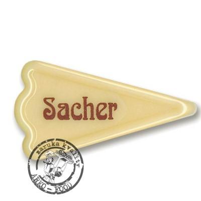 Sacher bílý – trojúhelníček - 50 ks