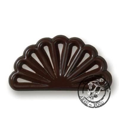 Čokoládové filigrány Vějíř, (48x28mm) 40 ks