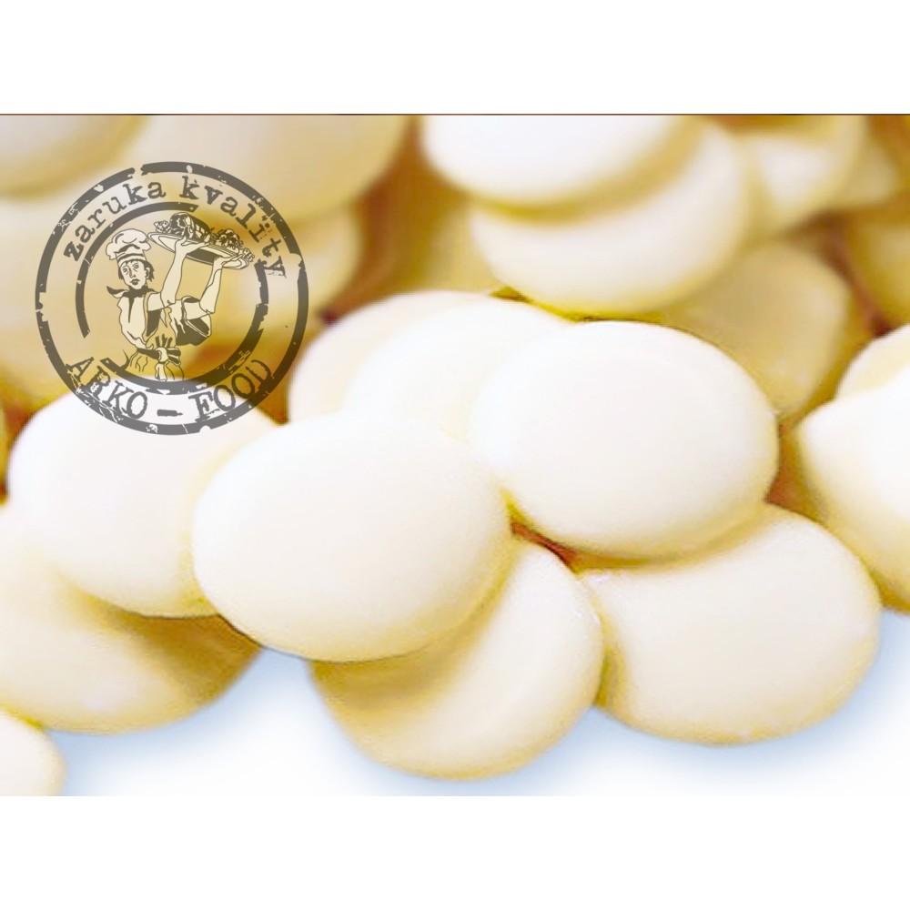 Čokoláda bílá Belchocolat 34% (pecky)