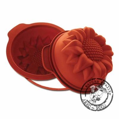 Forma silikonová bábovka (slunečnice střední) prům.18, v.7,3cm