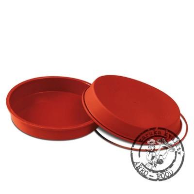 Forma silikonová dortová (Round pan) prům.18, v.4cm