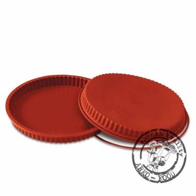Forma silikonová koláč (Flan pan) prům.24, v.3cm