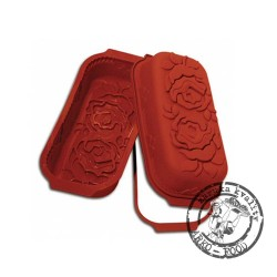 Forma silikonová pekáč (růže) 30x14,5, v.8cm