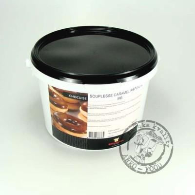 Elastická tuková poleva Souplesse KARAMEL - 3 kg