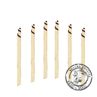 Čokoládové tužky Degas 10cm (bílé) 420 g/bal (125 ks)