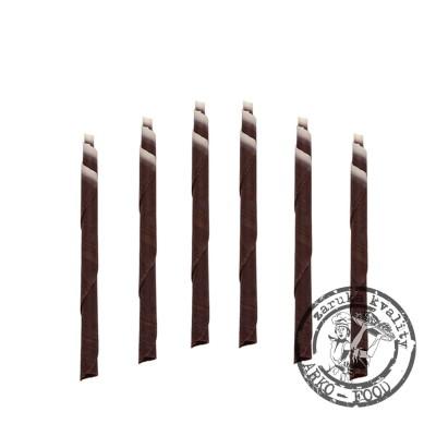 Čokoládové tužky 10cm (čoko-bílé) 125 ks/bal (420g)
