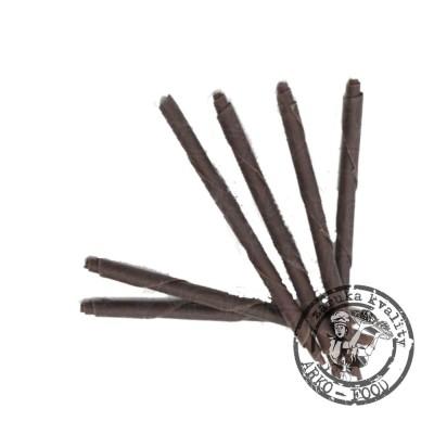 Čokoládové tužky 10cm (hořké) 115 ks/bal (450g)