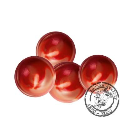 Čokoládové koule Mars, prům.2,5cm (červeno-oranžové) 63 ks/bal (391g)