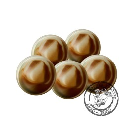 Čokoládové koule Neptun, prům.2,5cm (hořko-bílé) 63 ks/bal (200g)