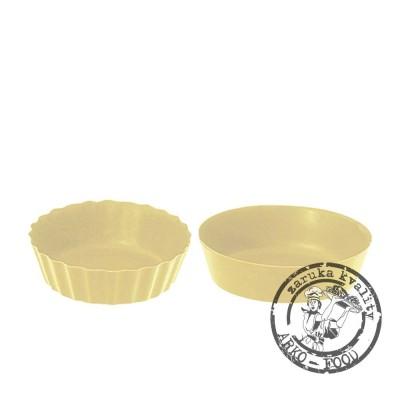 Košíček čokoládový (bílý) Petit Fours prům.5, v.1,8cm (2 tvary) 30 ks/bal (160g)