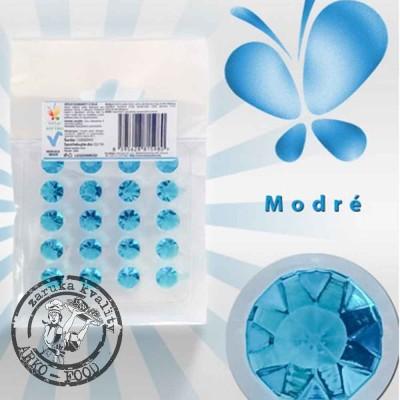 Jedlé diamanty z želé (modré) 20 ks/plato