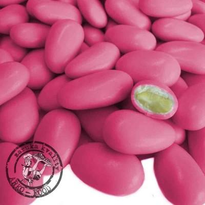 Konfety mandle v cukru (ruzove) - 100g