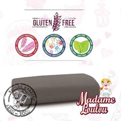Cukrářská potahovací hmota Madame Loulou ŠEDÁ- Roll Fondant