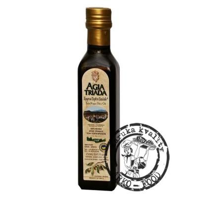 AGIA TRIADA Extra panenský olivový olej P.G.I.  - 250 ml sklo