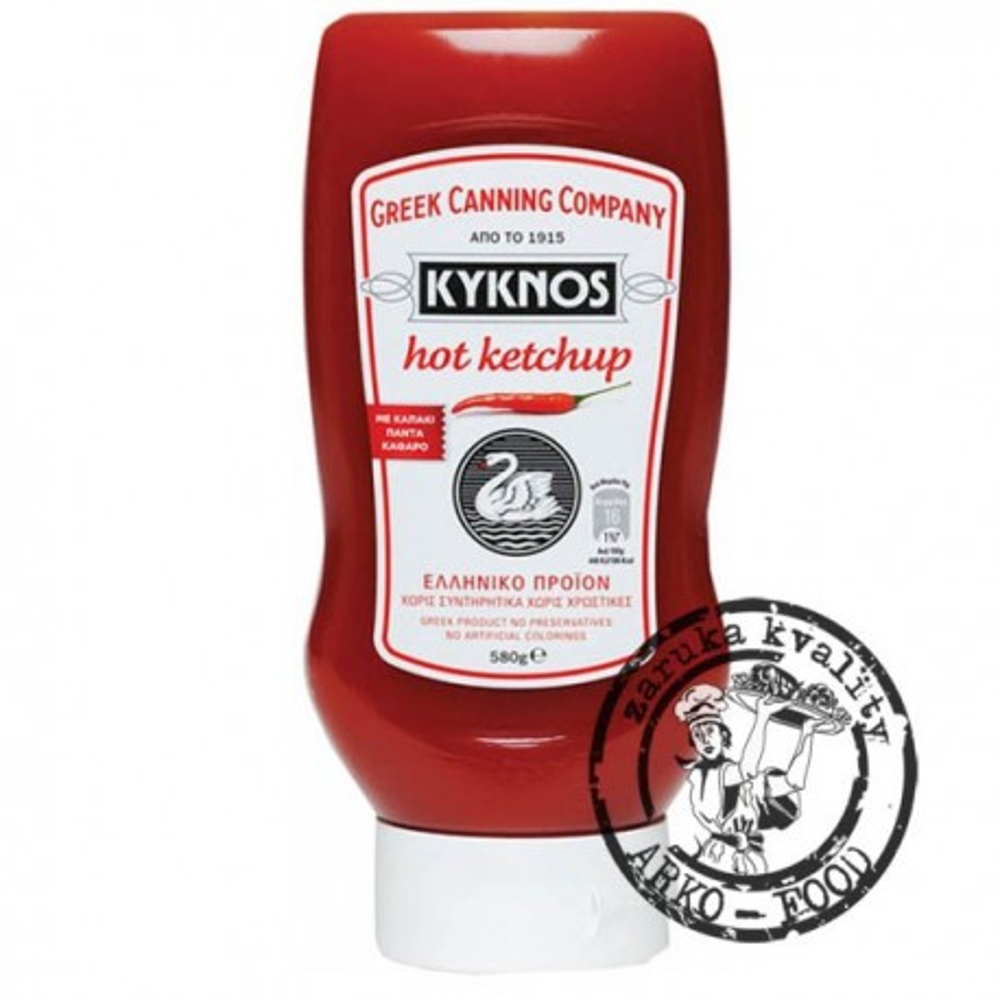 Kečup ostrý 580 g PET