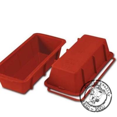 Forma silikonová pekáč (Plum cake) 24x10,5, v.6,5cm