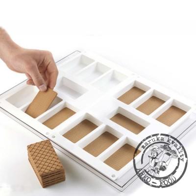 Tác se 2mi formami Classic na zmrzliny a sušenky (obdélník) 14x97ml