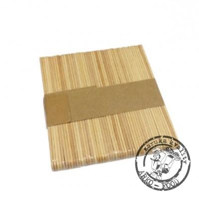Upravit: Dřívka na nanuky 7,5cm sada 50 ks 7,6x0,9, v.0,15 cm