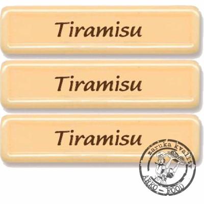 Tiramisu bílý – obdélníček - 50 ks