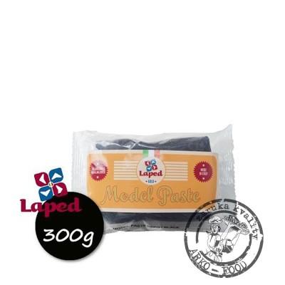 Modelovací hmota s kakaovým máslem (černá) 300 g/vakuum obal