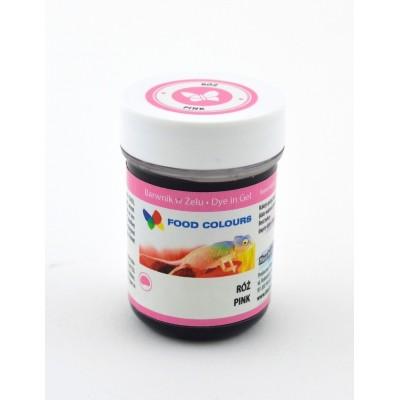 Gelová barva Food Colours (Pink) růžová 35 g