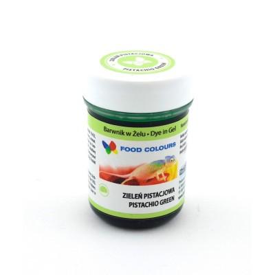 Gelová barva Food Colours (Pistachio Green) pistáciově zelená 35 g