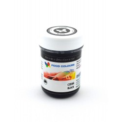 Gelová barva Food Colours (Black) černá 35 g