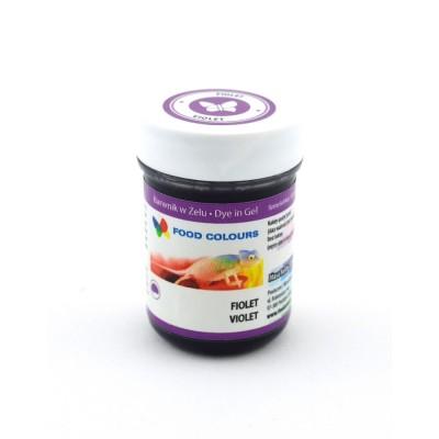Gelová barva Food Colours (Violet) fialová 35 g