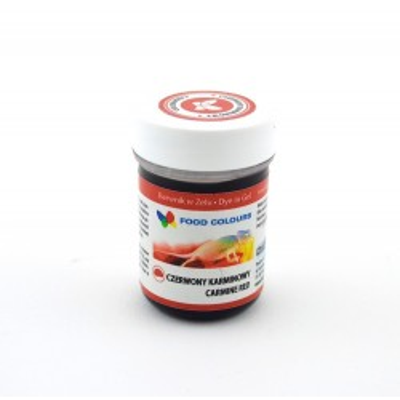 Gelová barva Food Colours (Carmine Red) karmínově červená 35 g
