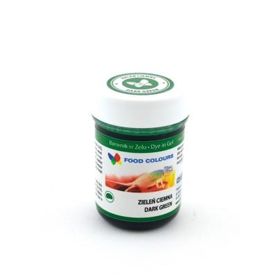 Gelová barva Food Colours (Dark Green) tmavě zelená 35 g