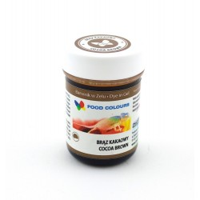 Gelová barva Food Colours (Cocoa Brown) tělová 35 g