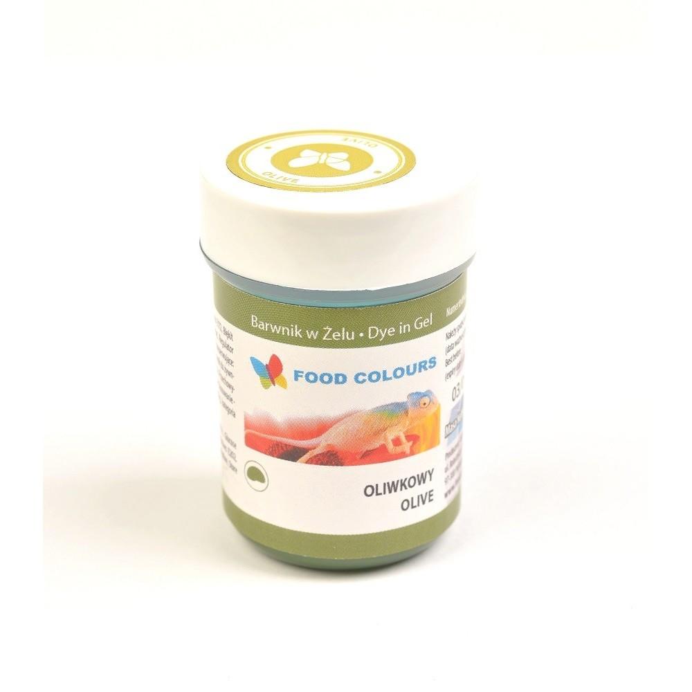 Gelová barva Food Colours (Olive) olivová 35 g