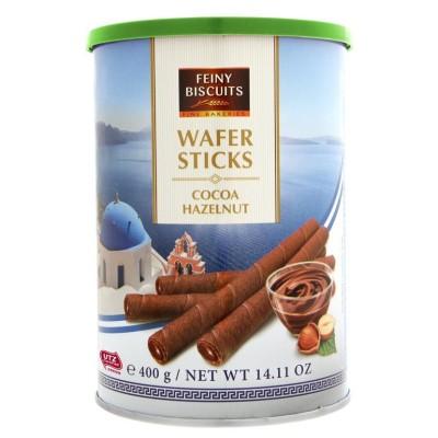 Trubičky plněné kakaovo-oříškovým krémem 400g