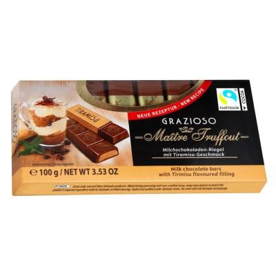 Grazioso mléčná čokoláda s tiramisu krémem 100g