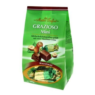 Grazioso Mini s náplní z lískových oříšků 108g