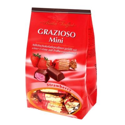 Grazioso Mini s jahodovou krémovou náplní 108g