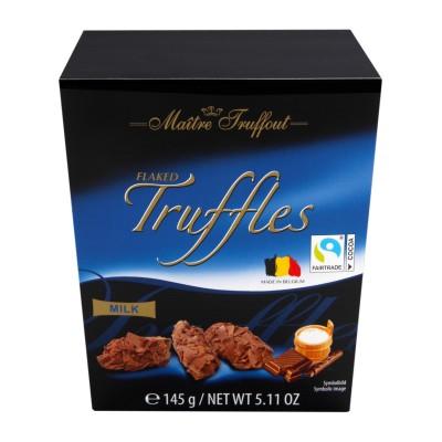 Lanýži s vločkami mléčné čokolády 145g Maitre