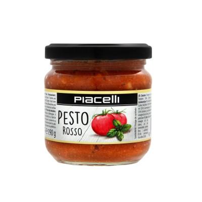 Pesto Rosso rajčatové pesto 190g Piacelli