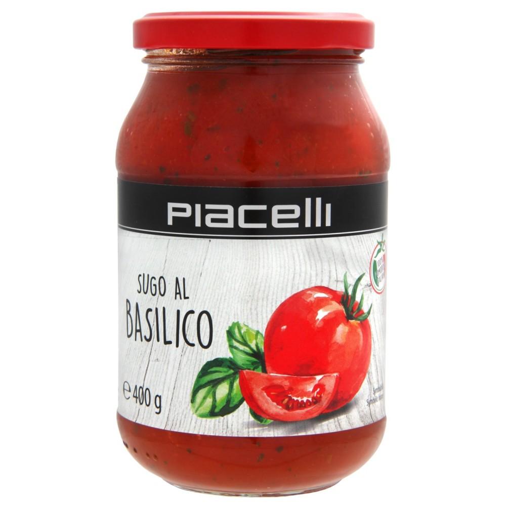 Sugo Basilico rajčatová omáčka s bazalkou 400g Piacelli