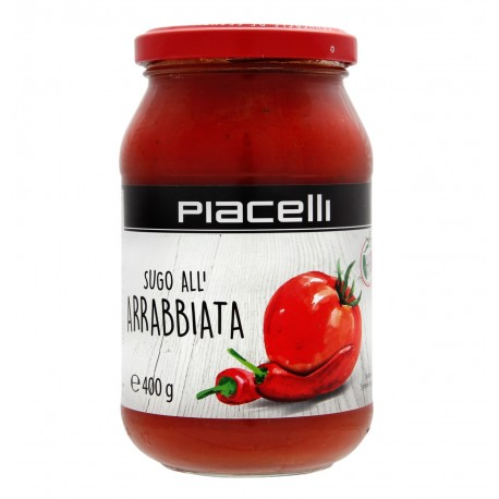 Sugo All'Arrabbiata rajčatová omáčka s chilli 400g Piacelli