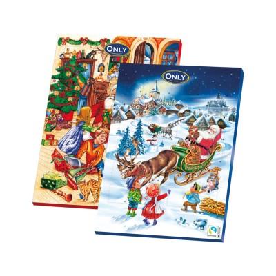 Adventní kalendář 75g Only